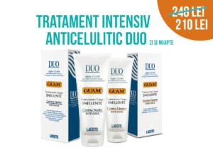 Tratament intensiv anticelulitic DUO - Guam
